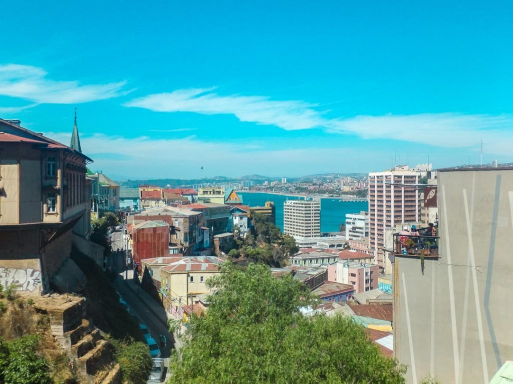 The views of Valparaiso, Chile
