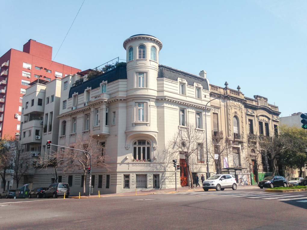 SAN TELMO neighborhood in buenos aires