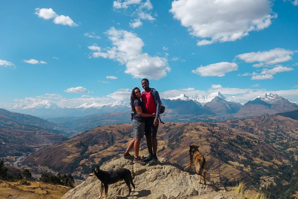 WIlcacocha viewpoint, Huaraz Peru