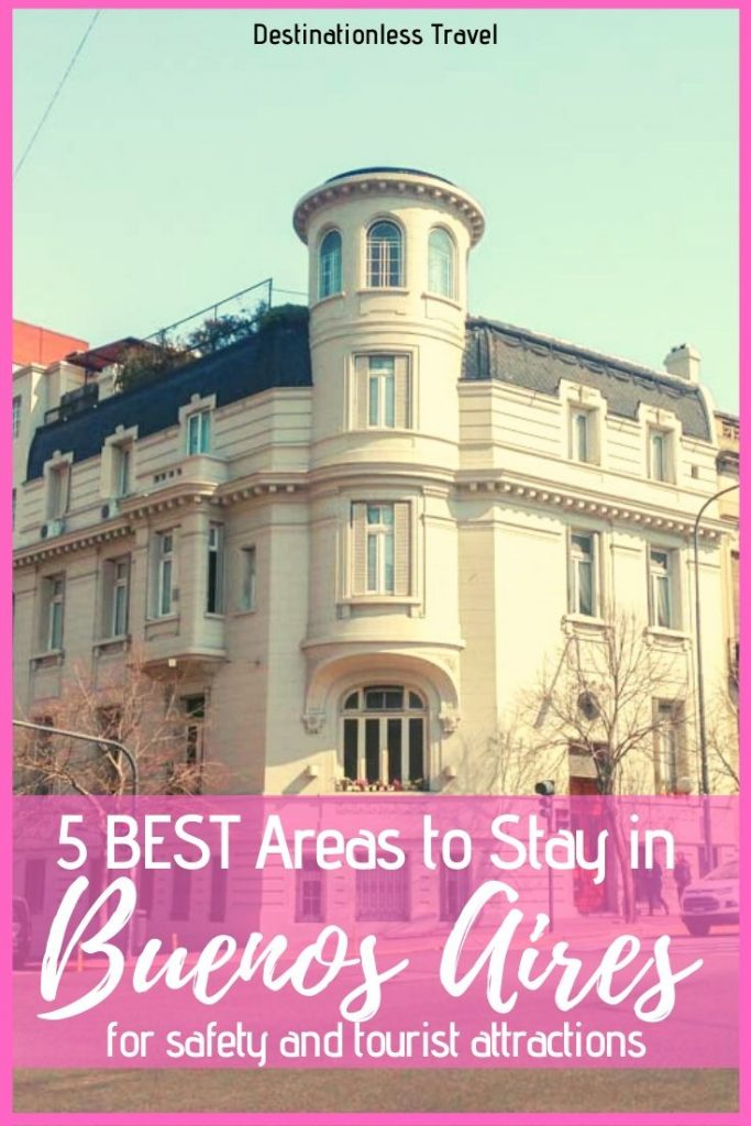 best area to stay in buenos aires pin