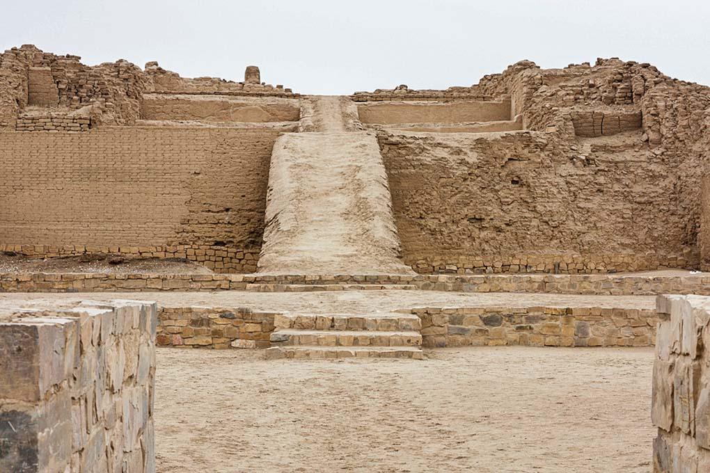 Pachacamac Ruins near lima