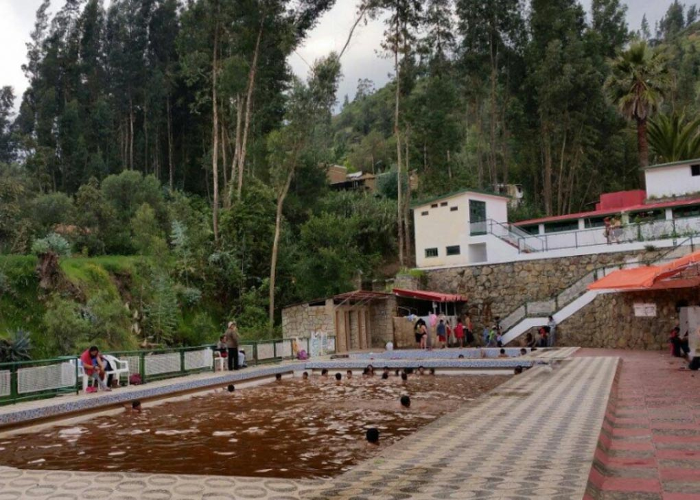 monterry hot springs in huaraz peru
