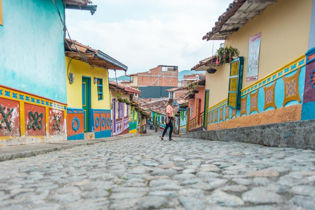 Calle del Recuerdo, Guatapé, Colombia
