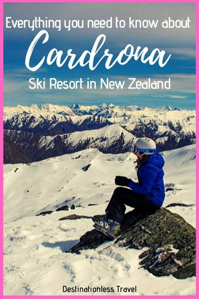cardrona ski resort pin
