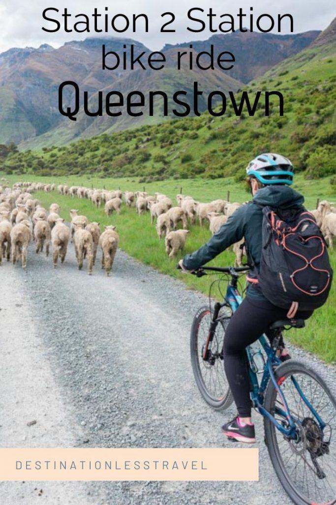 Station 2 Station bike ride Queenstown
