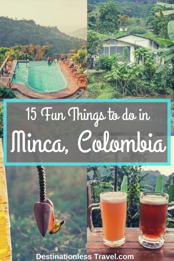 things to do in minca colombia pinterest image