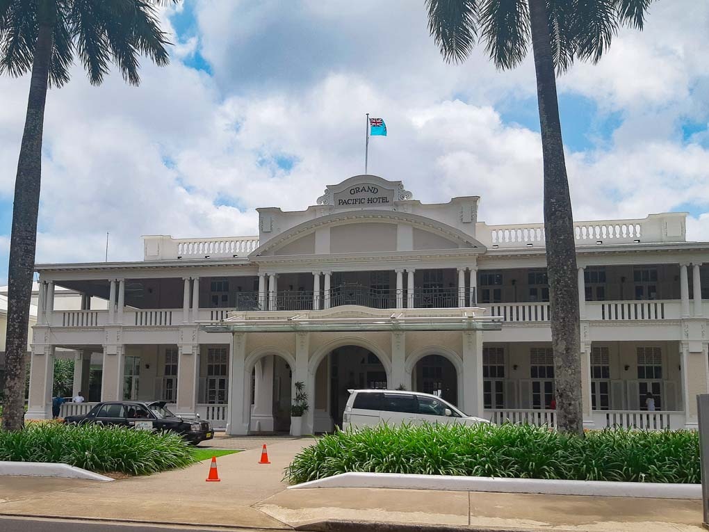 the Grand Pacific Hotel in suva, Fiji