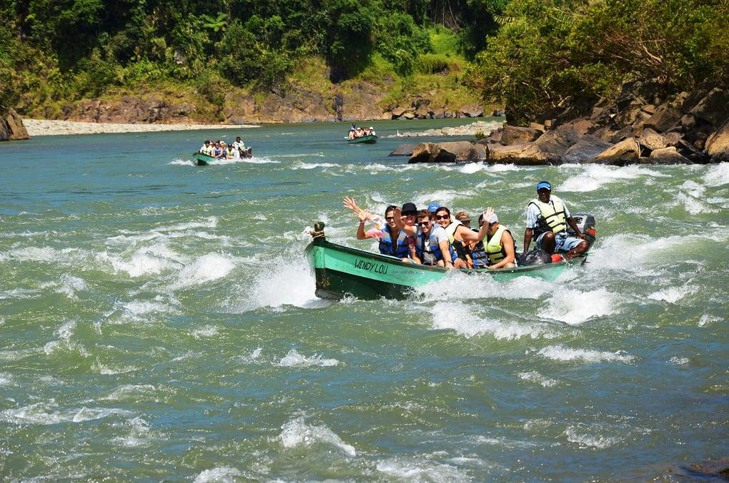 rewa river boat tour in Suva, Fiji