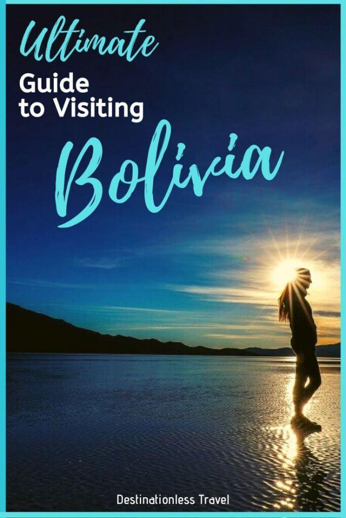 Bolivia Travel Guide pinterest image