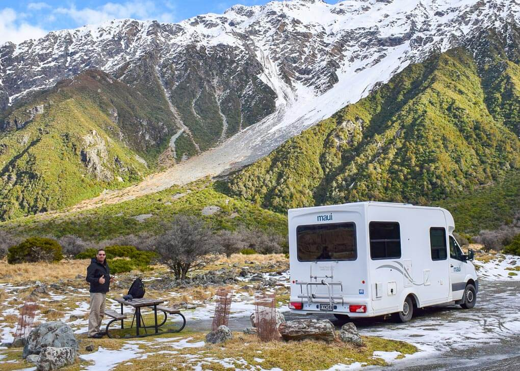 maui campervan in new zealand