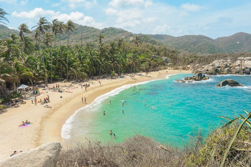 Cabo San Juan Beach in Tayrona National Park, Colombia
