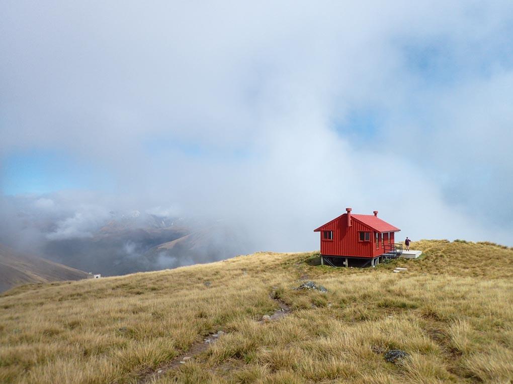 The Brewster Hut, New Zealand
