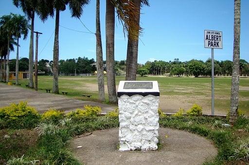 Albert Park in Suva, Fiji