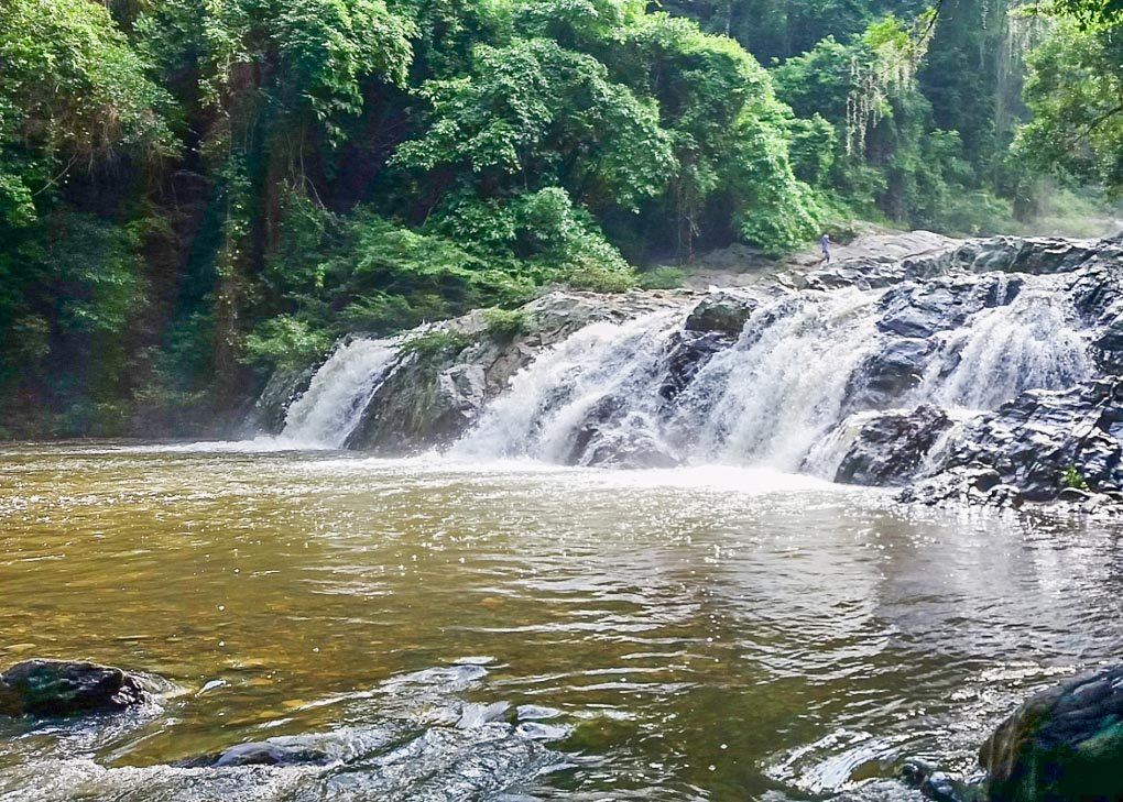 Valencia Brooks Waterfall near Costeño Beach, Colombia