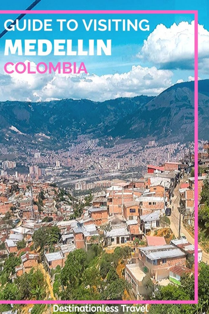 medellin colombia guide pinterest image