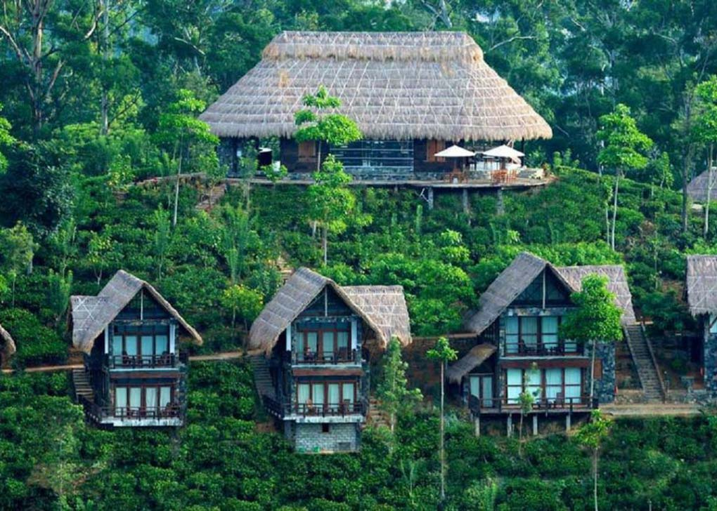 A birds eye view of the 98 Acres Resort and Spa in Ell, Sri Lanka
