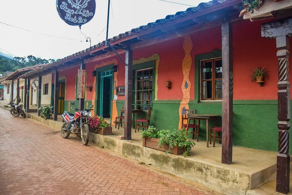 A cute street in Samaipata, Bolivia