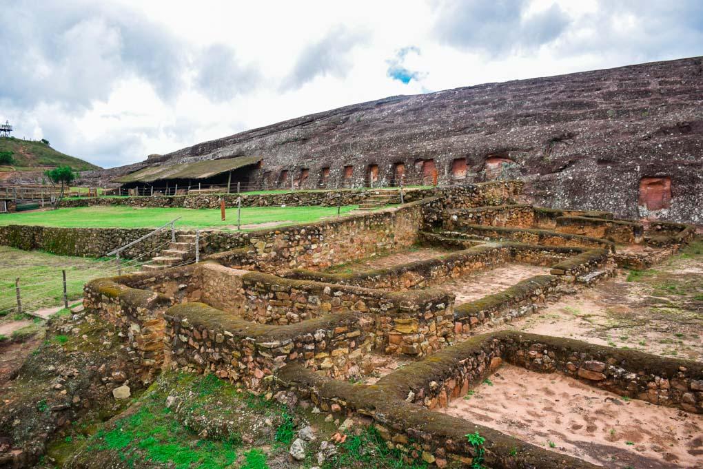 The ruins of El Fuerte de Samaipata