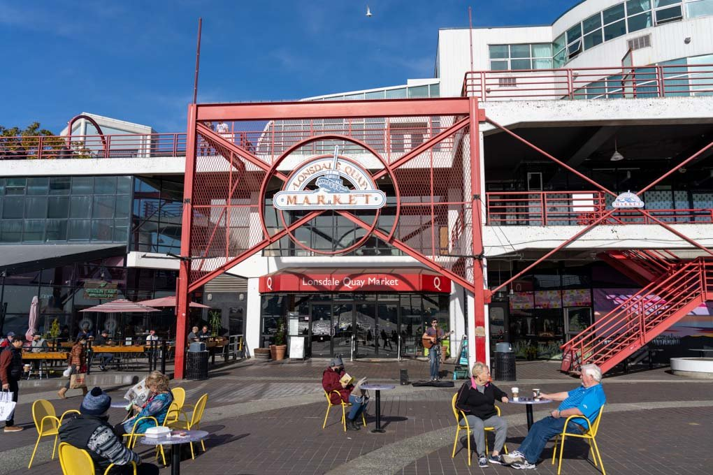 Lonsdale Quay shopping mall