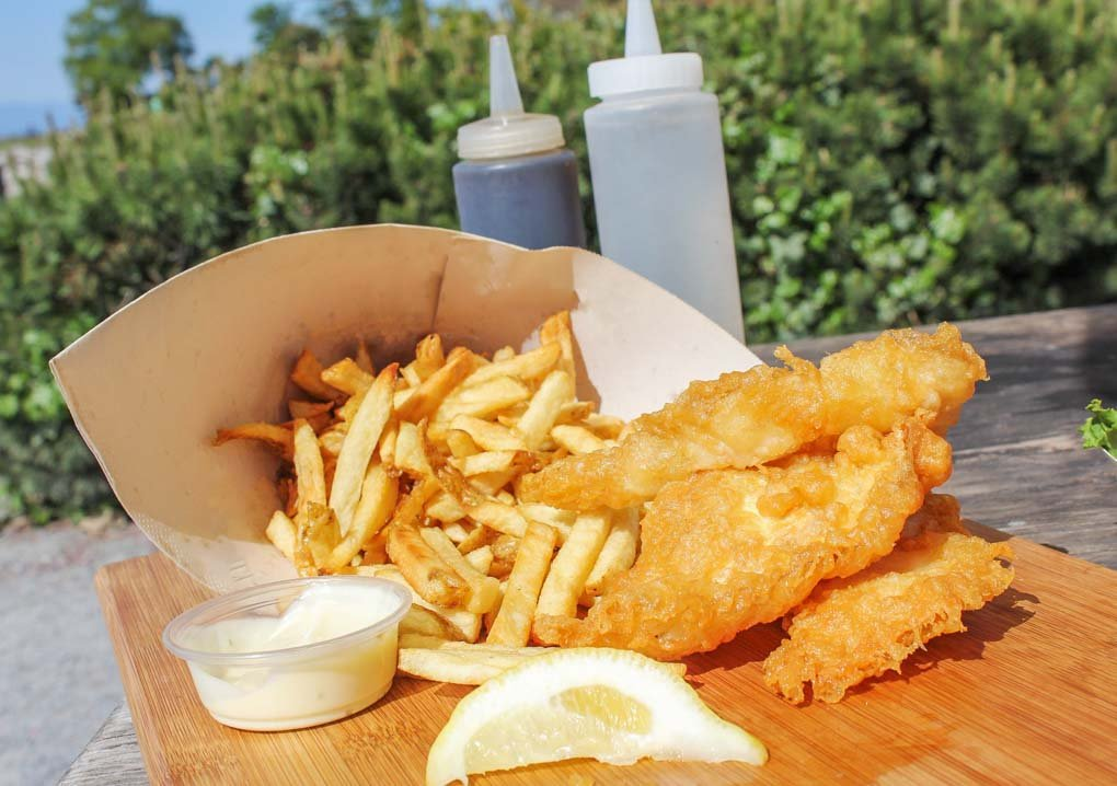 Fish and chips from Pajos Fish and Chips, Vancouver
