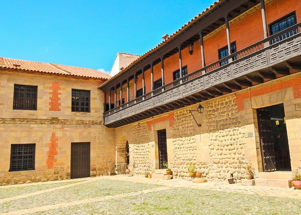 The inside of Casa Nacional de Moneda in Potosi