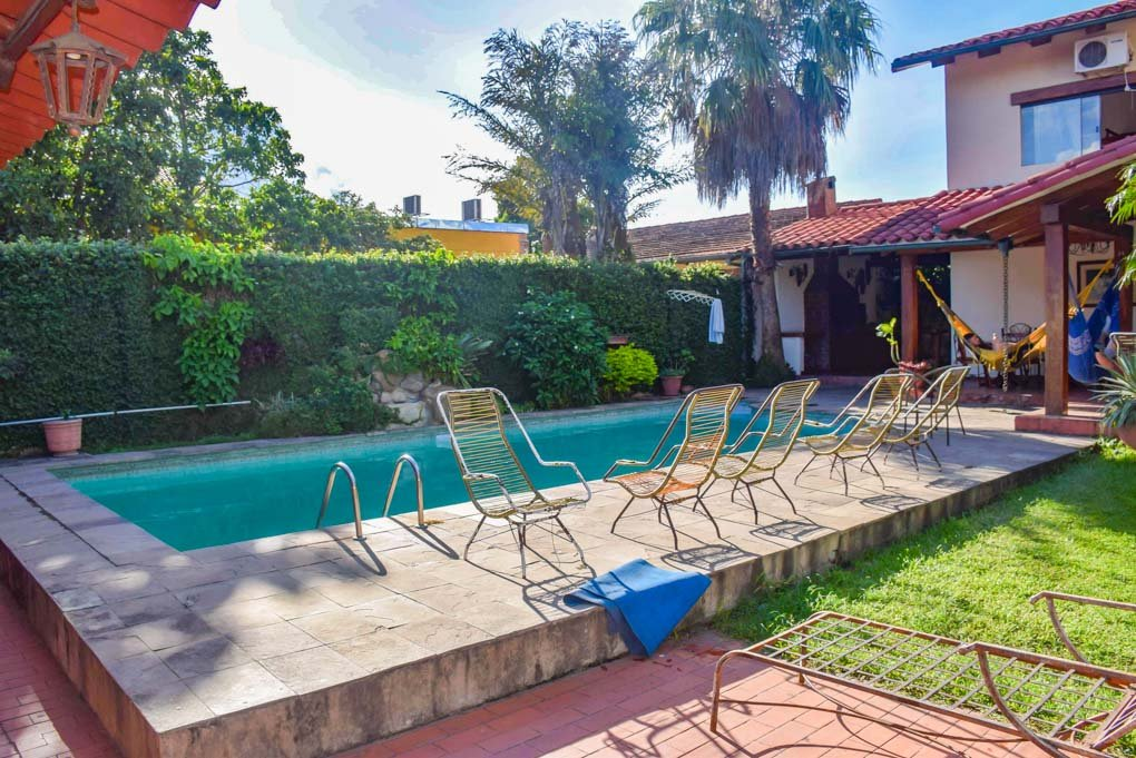 The pool at our hotel in Santa Cruz, Bolivia