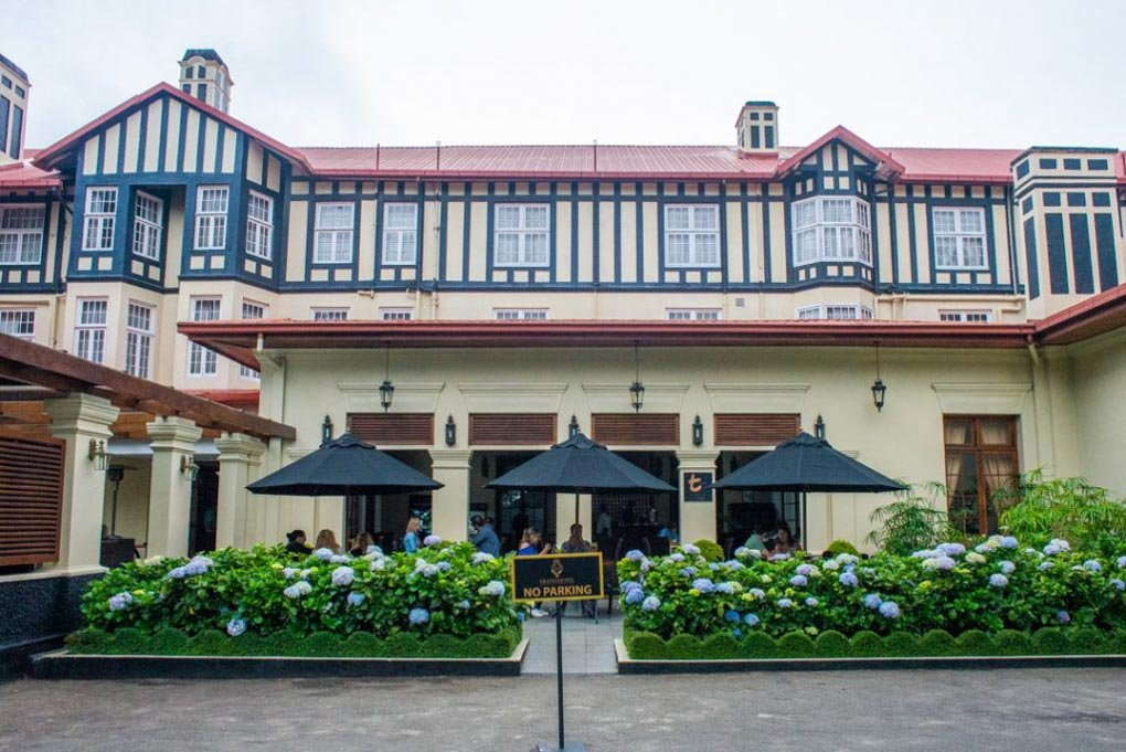 The Grand Hotel in Nuwara Eliya, Sri Lanka