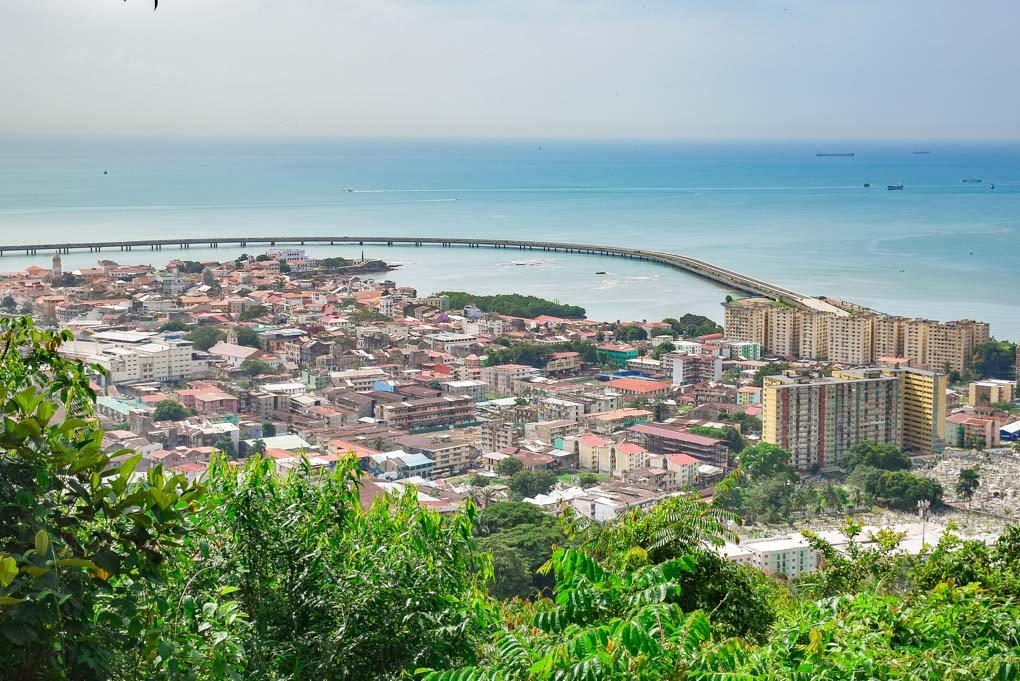 A view of Casco Viejo from Ancon Hill
