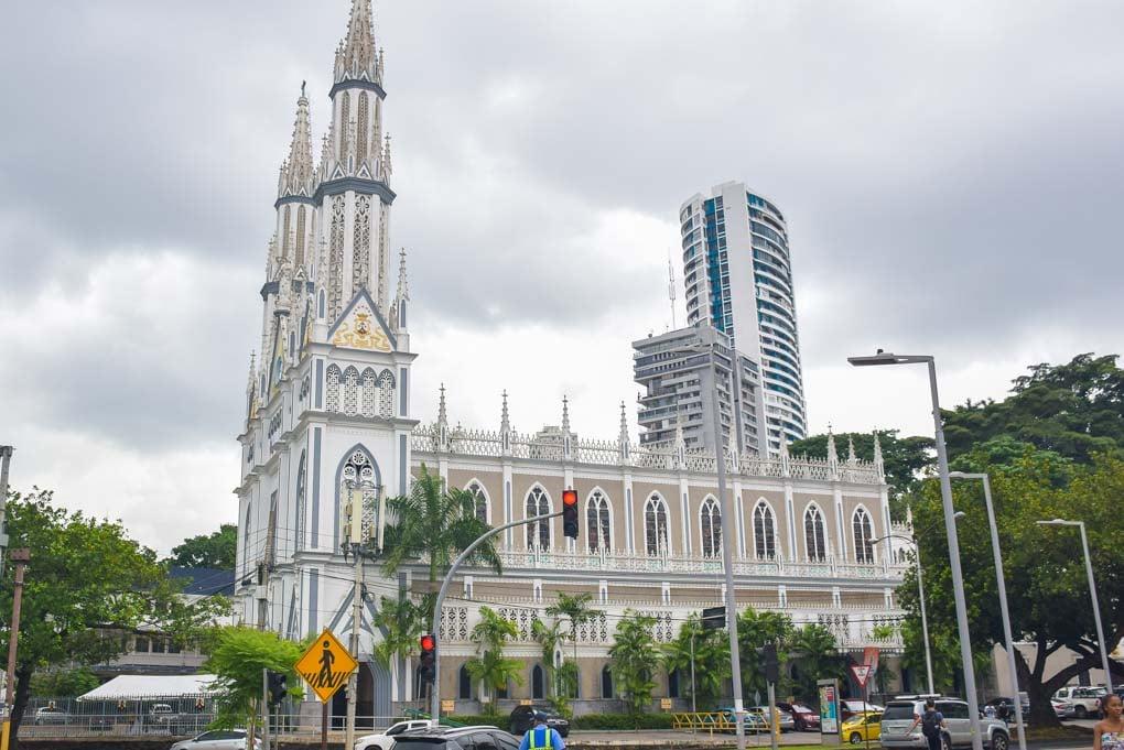 La Iglesia del Carmen, Panama City