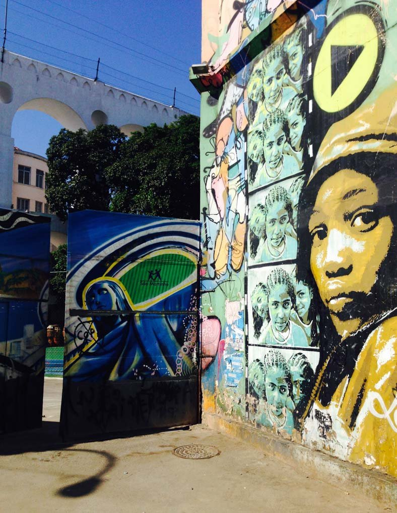 More street art in Lapa, Rio