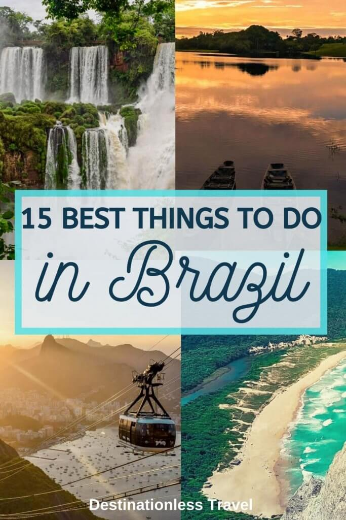 things to do in Brazil pinterest image