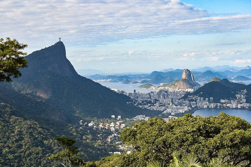 The view from Vista Chinesa, Rio de Janeiro, Brazil