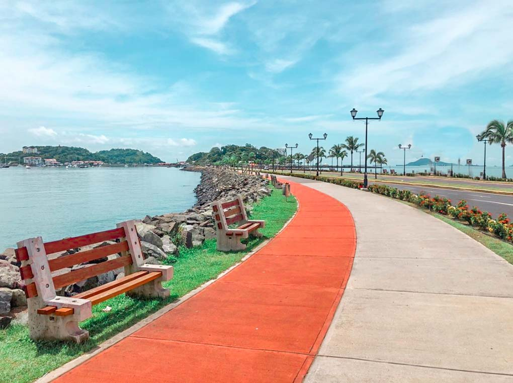 The Amador Causeway, Panama, City, Panama