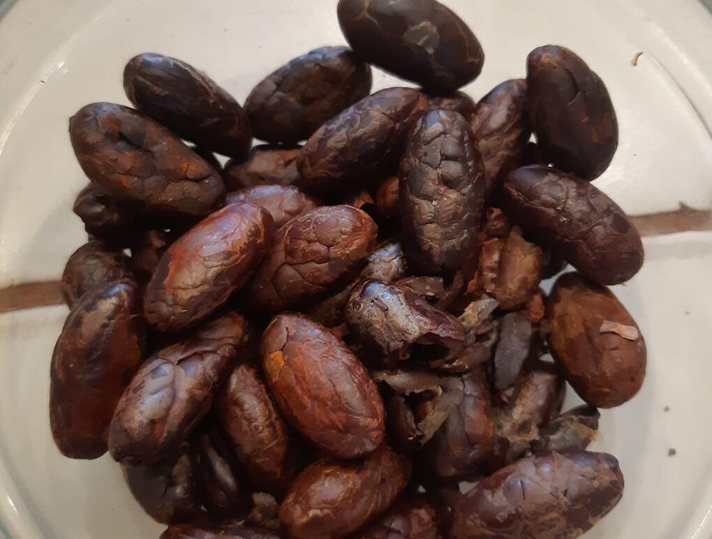 chocolate beans