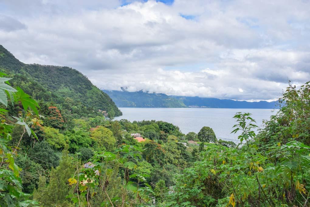 Cerro Tzankujil nature reserve in Lake Atitlan, Guatemala