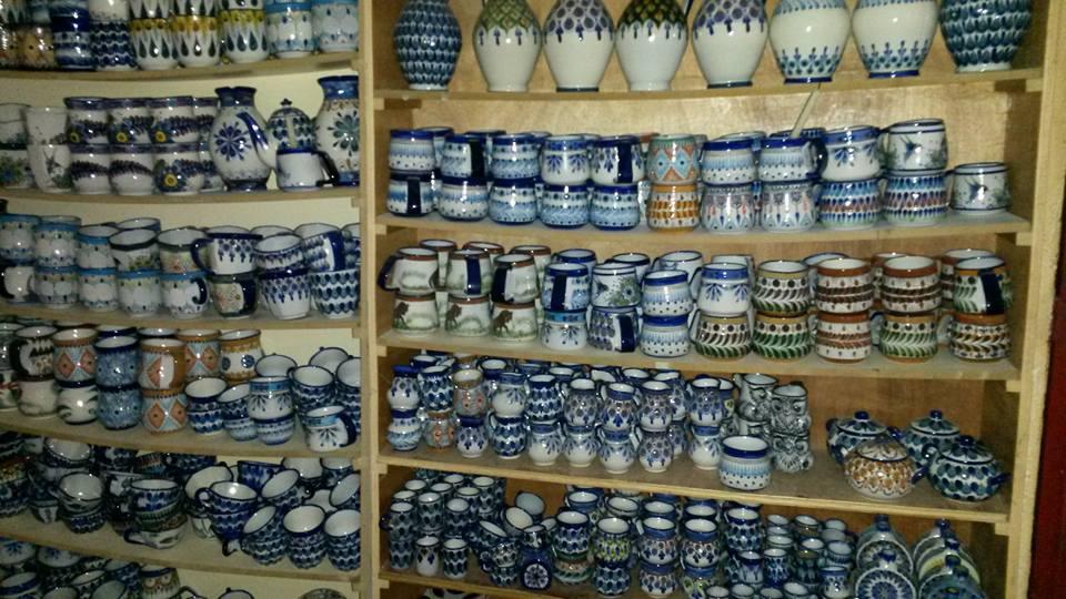 ceramica multicolor in Lake Atitlan