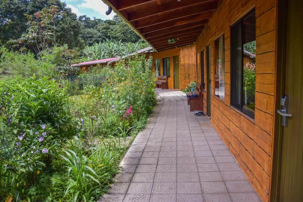 A hotel in Monteverde