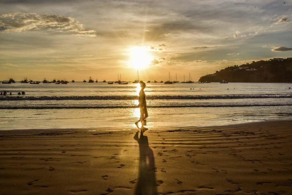 Sunset at San Juan del Sur, Nicaragua