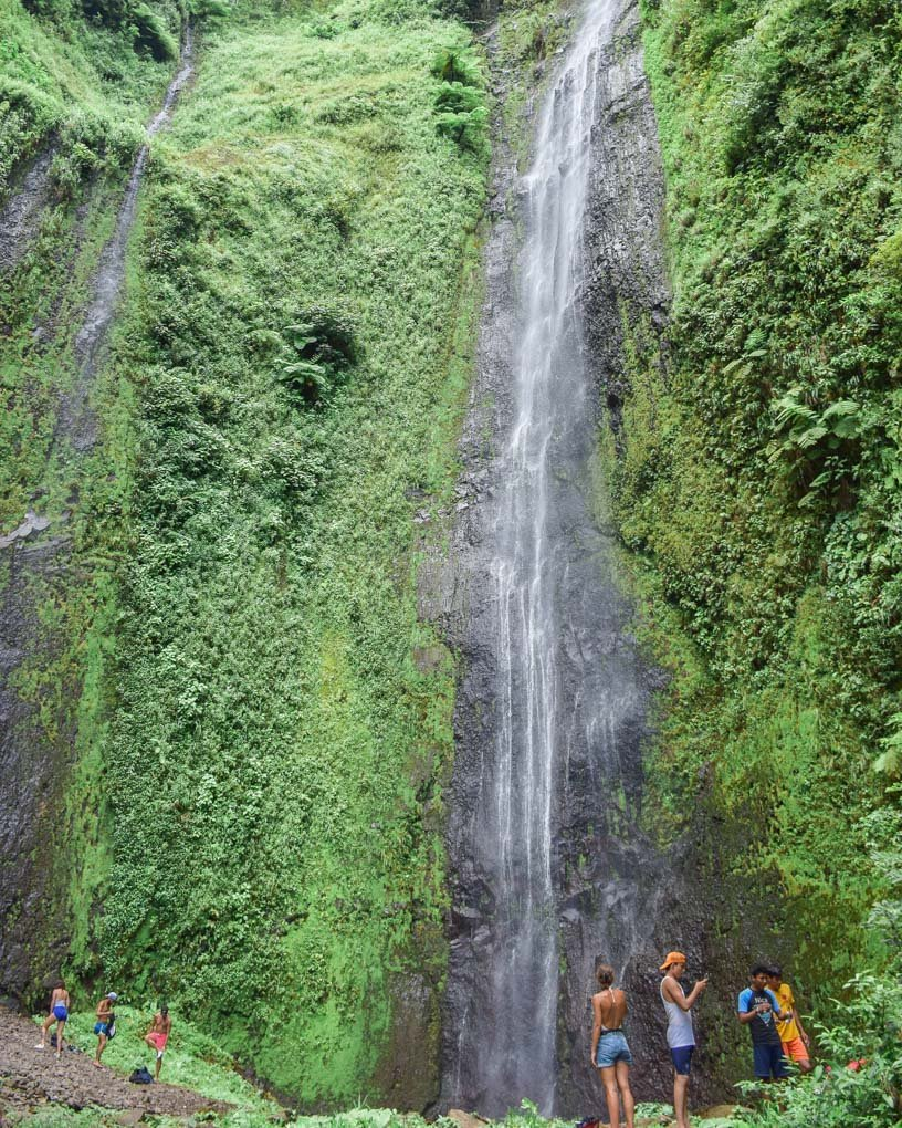 San Ramon waterfall, Ometepe