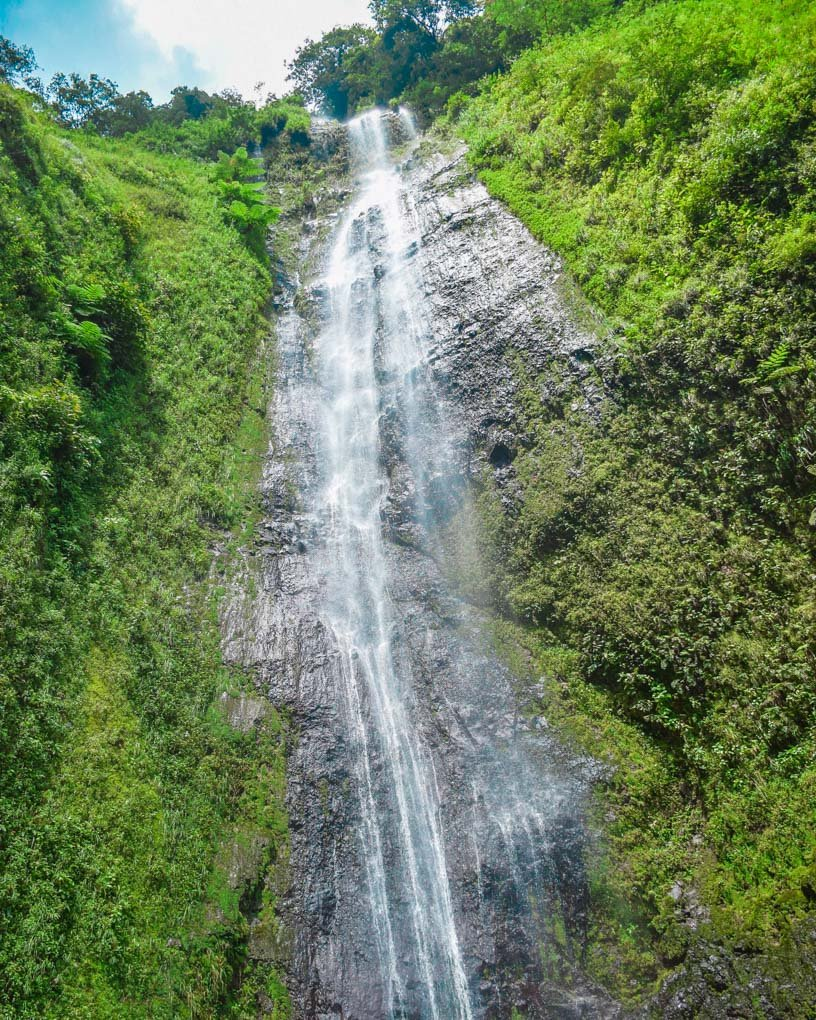 San Ramon Waterfall on Ometepe, Nicargua