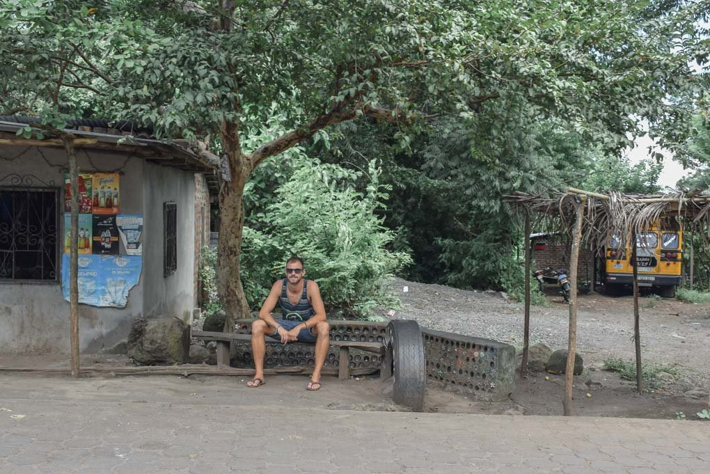 Hanging out in a small town on ometepe, Nicaragua