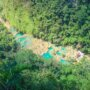 Semuc Champey from the viewpoint