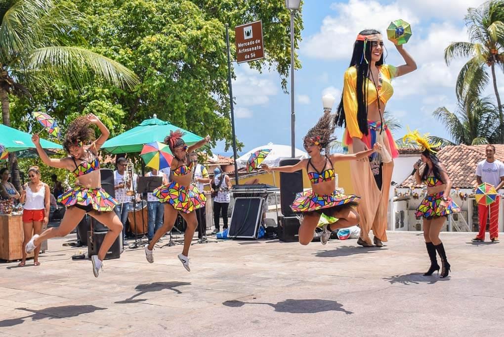 dancers for Canirval in Olinda, Brazil