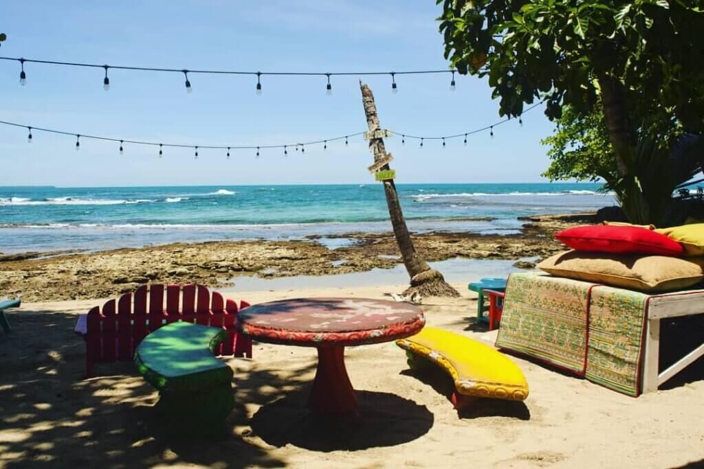 Salsa Brava Beach Bar in Puerto Viejo