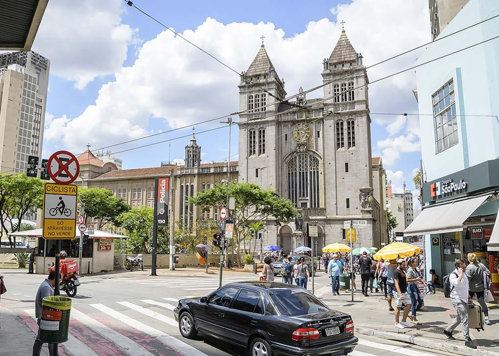 Outside of the Monastery of São Bento