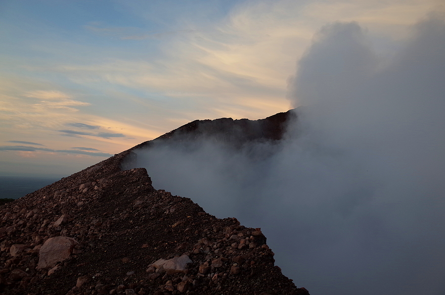 Volcan Telica Near Leon In Nicaragua