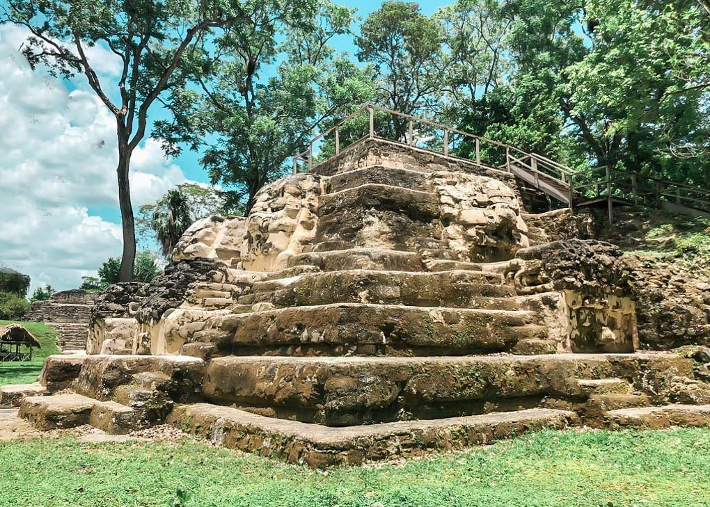 A Mayan Ruin in Uaxactún, Guatemala