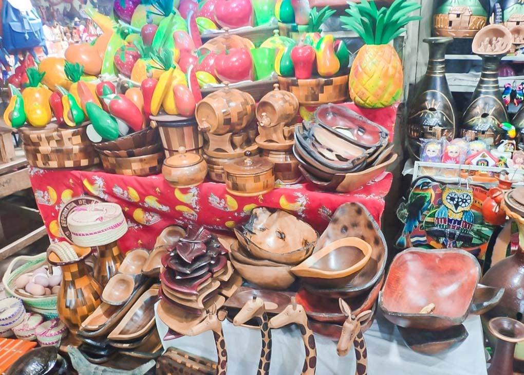 A stall at Mercado de Artisanal, Masaya, Nicaragua