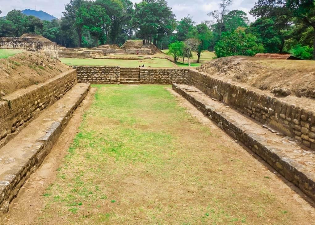 Iximché ruins near Lake Atitlan, Gautemala