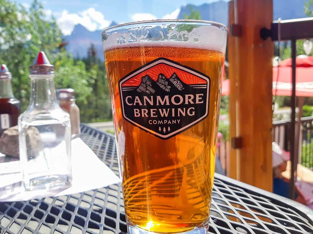 A Canmore Brewing Co beer